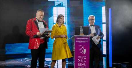 Two awards for at Europa Property SEE Real Estate Awards Gala