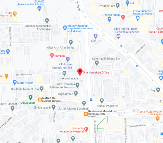 One Herastrau Office neighbourhood map