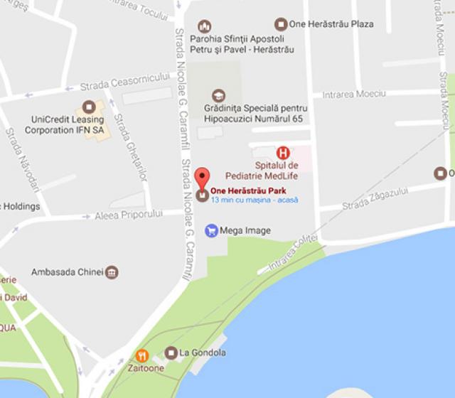 One Herastrau Park neighbourhood map