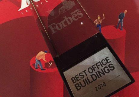 Office division at Forbes Office Buildings 2018 Award