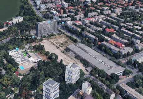 Giving back to Bucharest and its community a central area