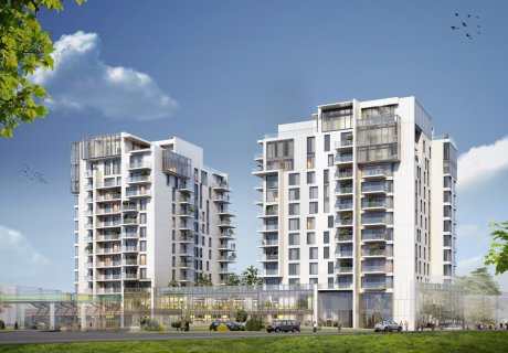 Building permit for One Herăstrău Towers
