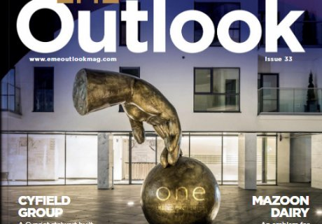 Featured on EME Outlook most recent cover