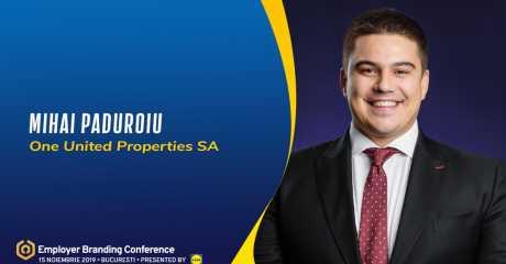 Mihai Păduroiu speaker at Employer Branding Conference