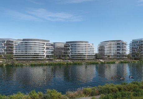 2,000 apartments on the shore of Lake Plumbuita