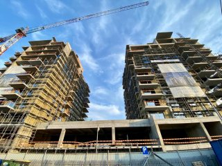 One Herăstrău Towers: completed structure and 85% pre-contracted sales