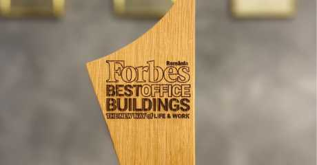 One United Properties awarded at Forbes Best Office Buildings Gala