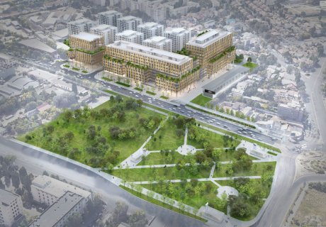 One Cotroceni Park residential component construction permit approved