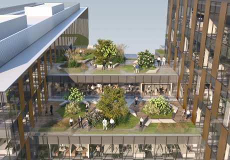 Green real estate developments