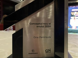"""One Peninsula awarded with """"New Concept of 2020"""""""