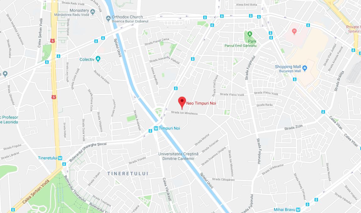 Neo Timpuri Noi neighbourhood map