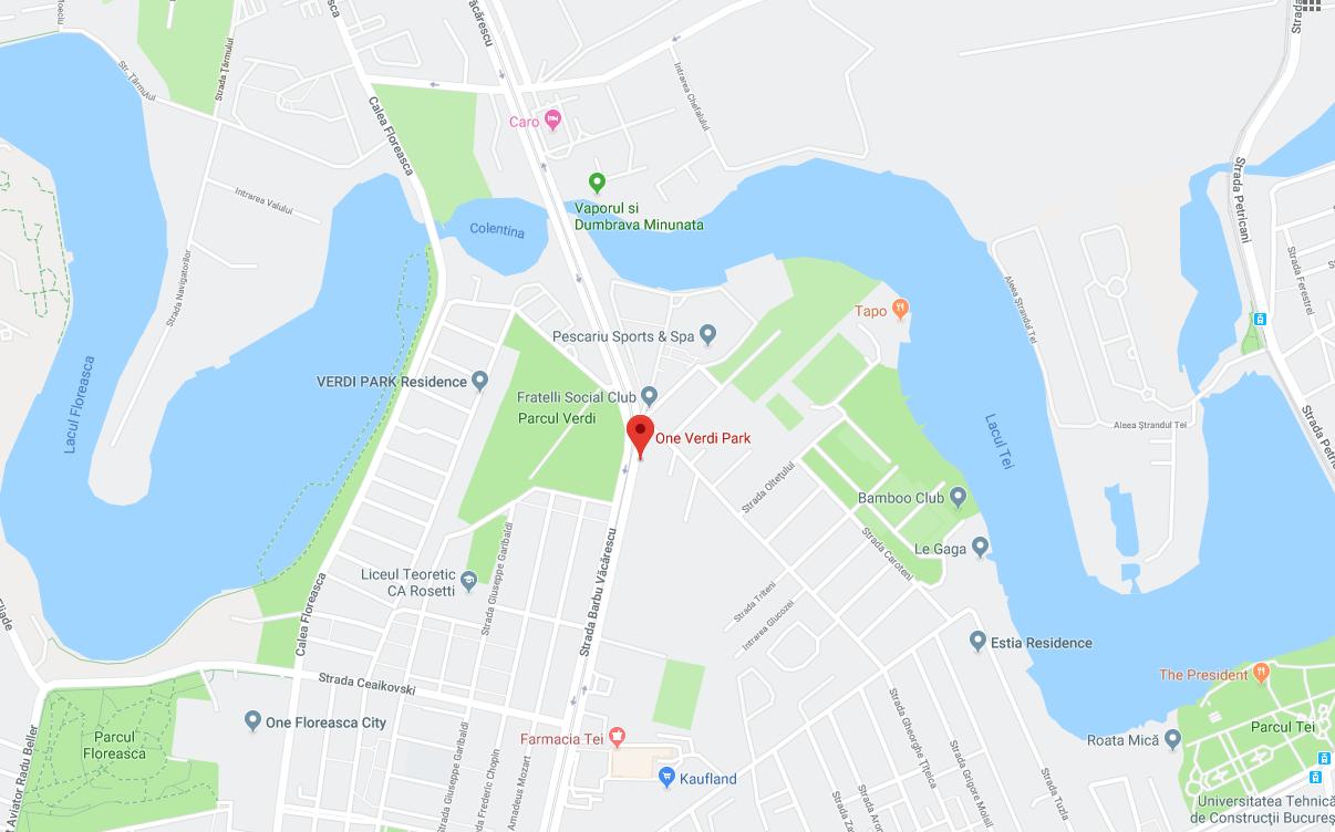 One Verdi Park neighbourhood map