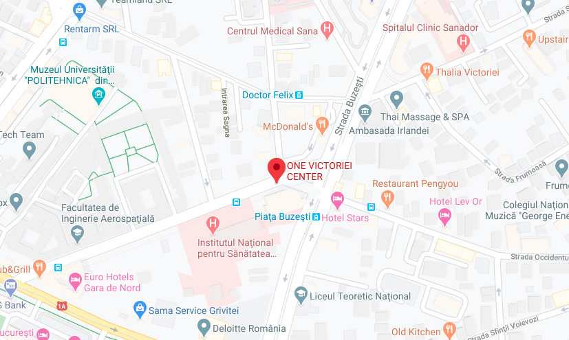 One Victoriei Center neighbourhood map